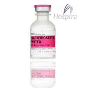 hospira bacteriostatic water